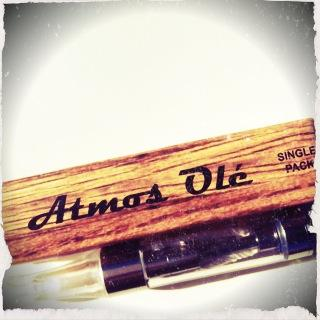 Atmos Ole clear juice cartridge